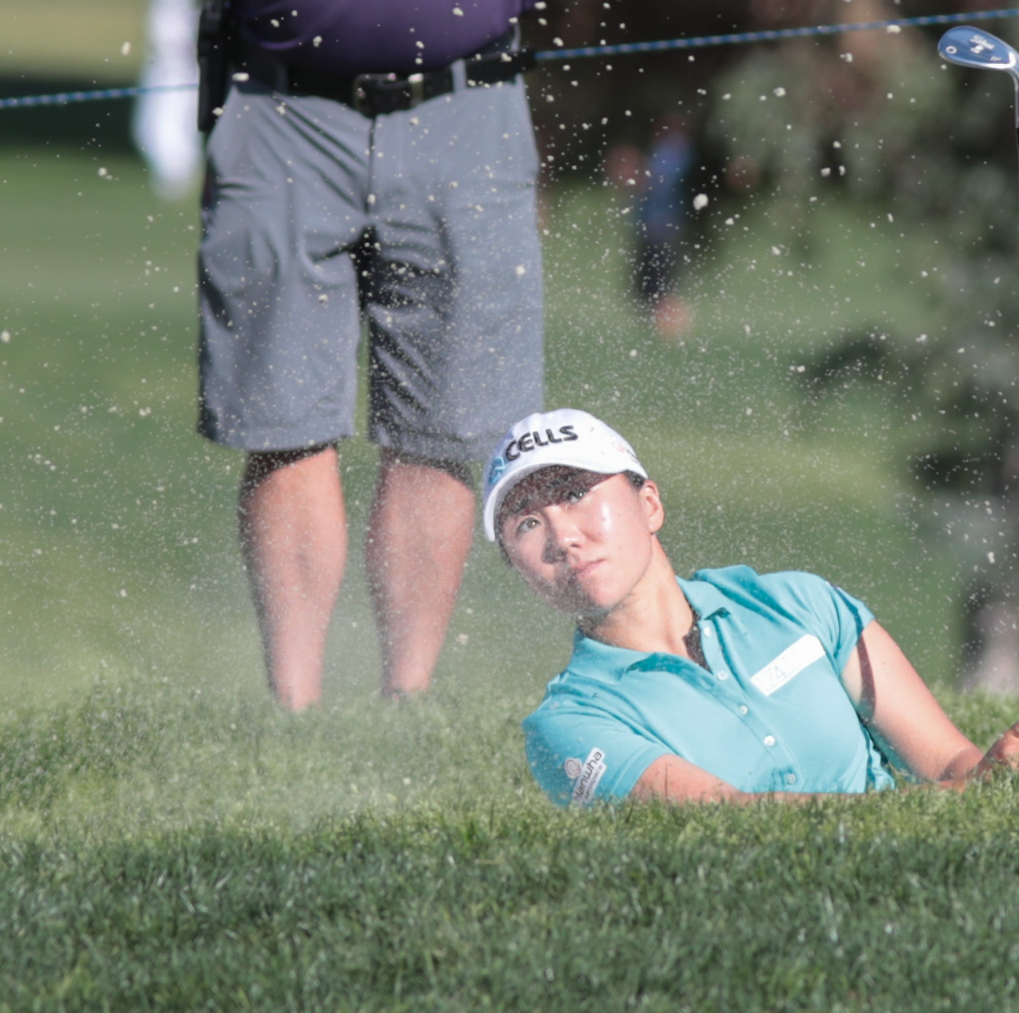 Jin Young Ko goes from runaway lead to one-shot advantage at ANA Inspiration