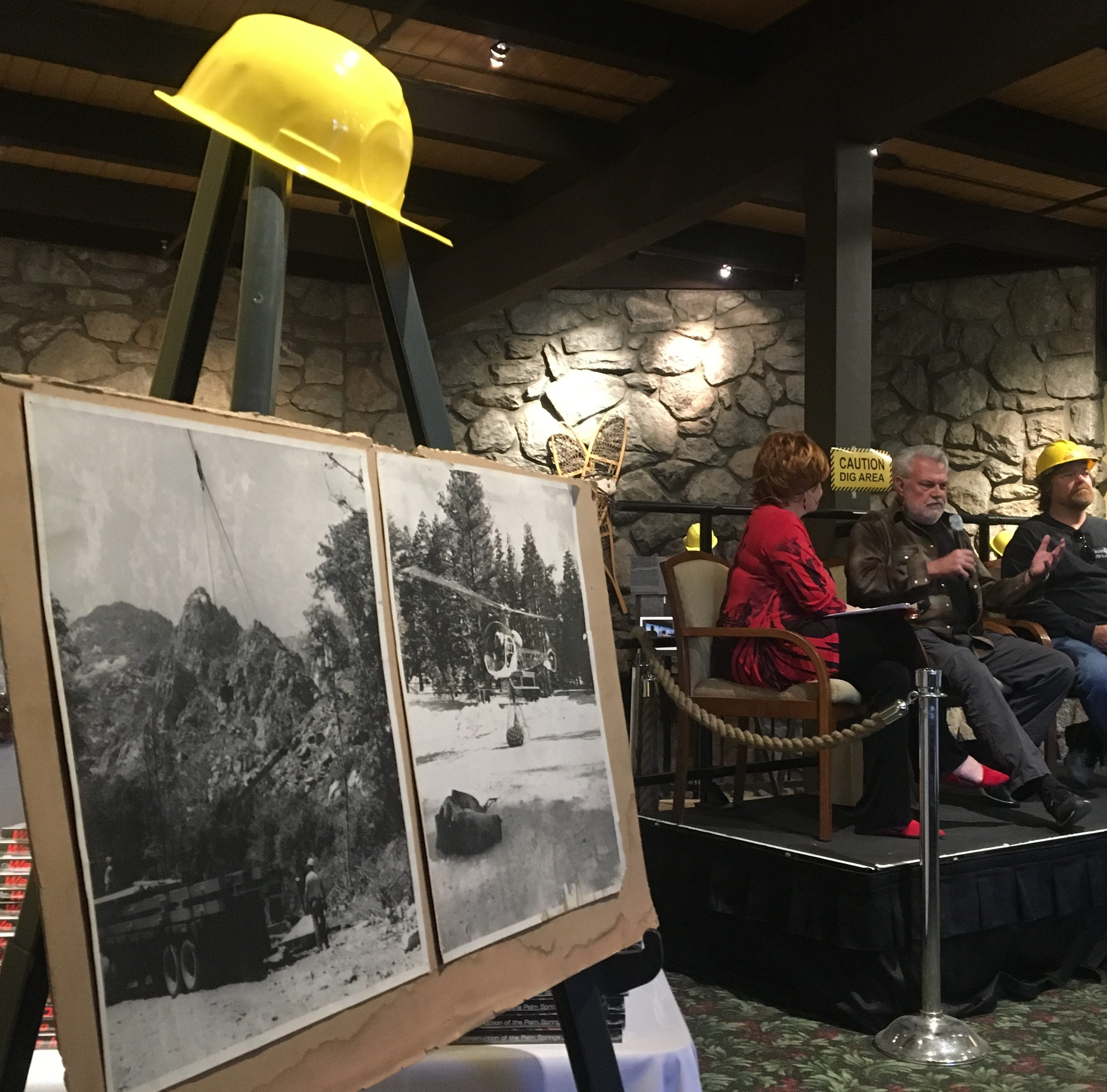 Palm Springs Aerial Tramway opened last week and two with historical ties discuss its origin