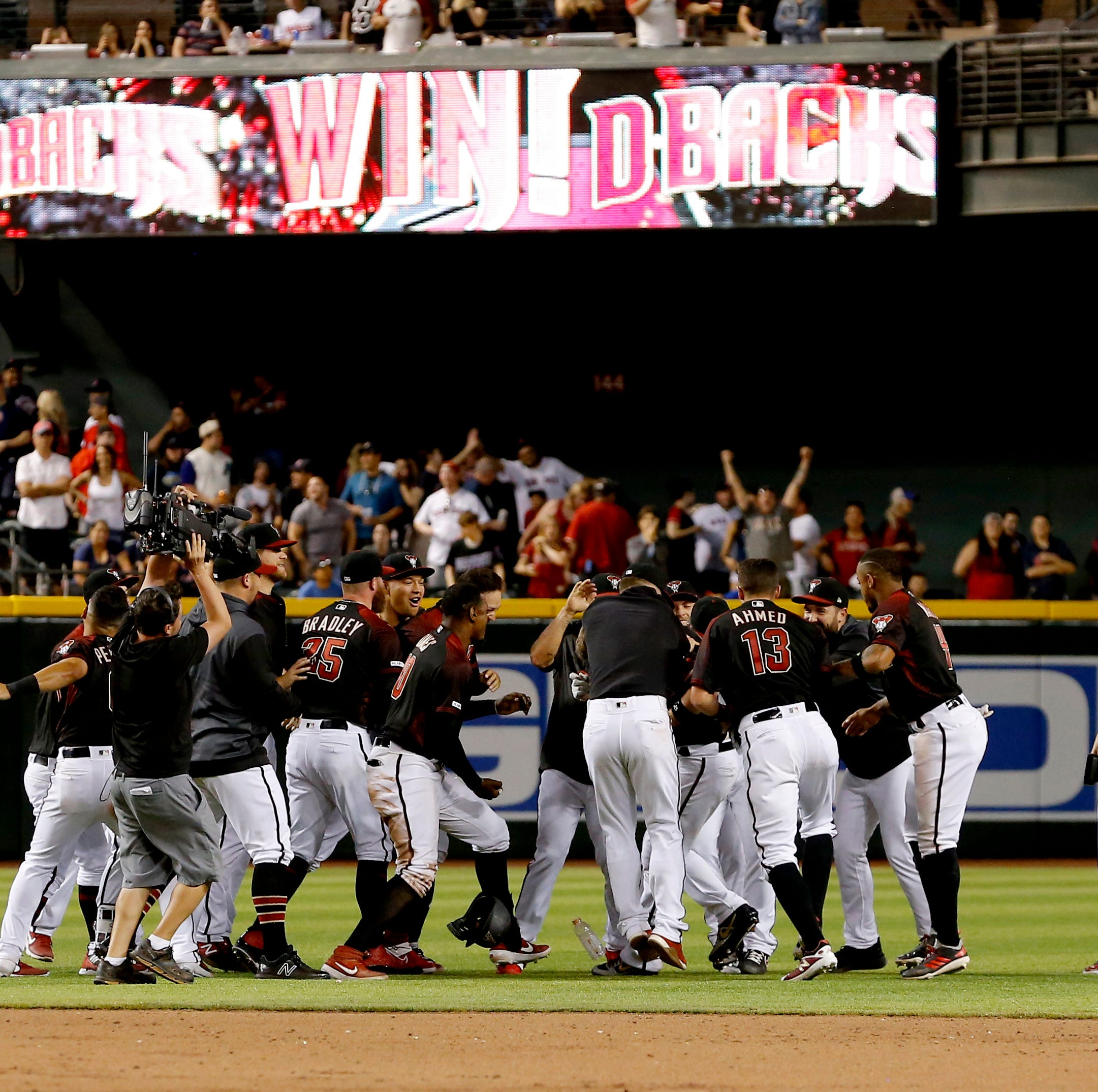 Carson Kelly's game-winning hit lifts Diamondbacks over Red Sox