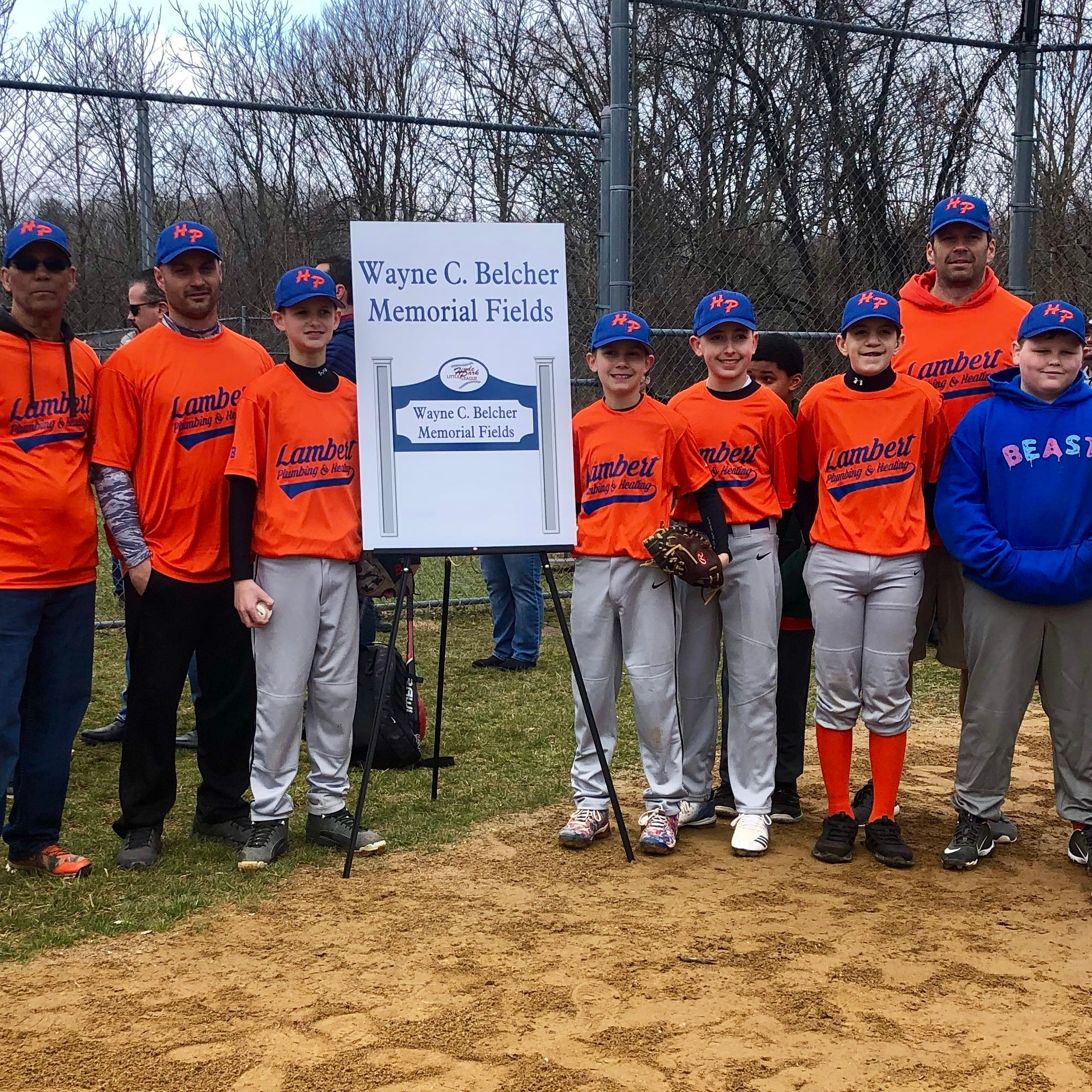 'Missed but never forgotten': Belcher honored as Hyde Park Little League season begins