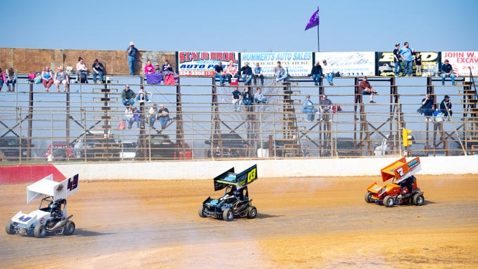 April 6, 2019, marked the Trail-Way Speedway season opener. Dozens of drivers competed in the 600 micro sprints, 270 micro sprints, legends and micro midgets races.