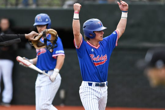 Sophomore shortstop Taylor Young led the Bulldogs on Sunday, going 4-for-5 with 4 RBI in a win over UTSA.