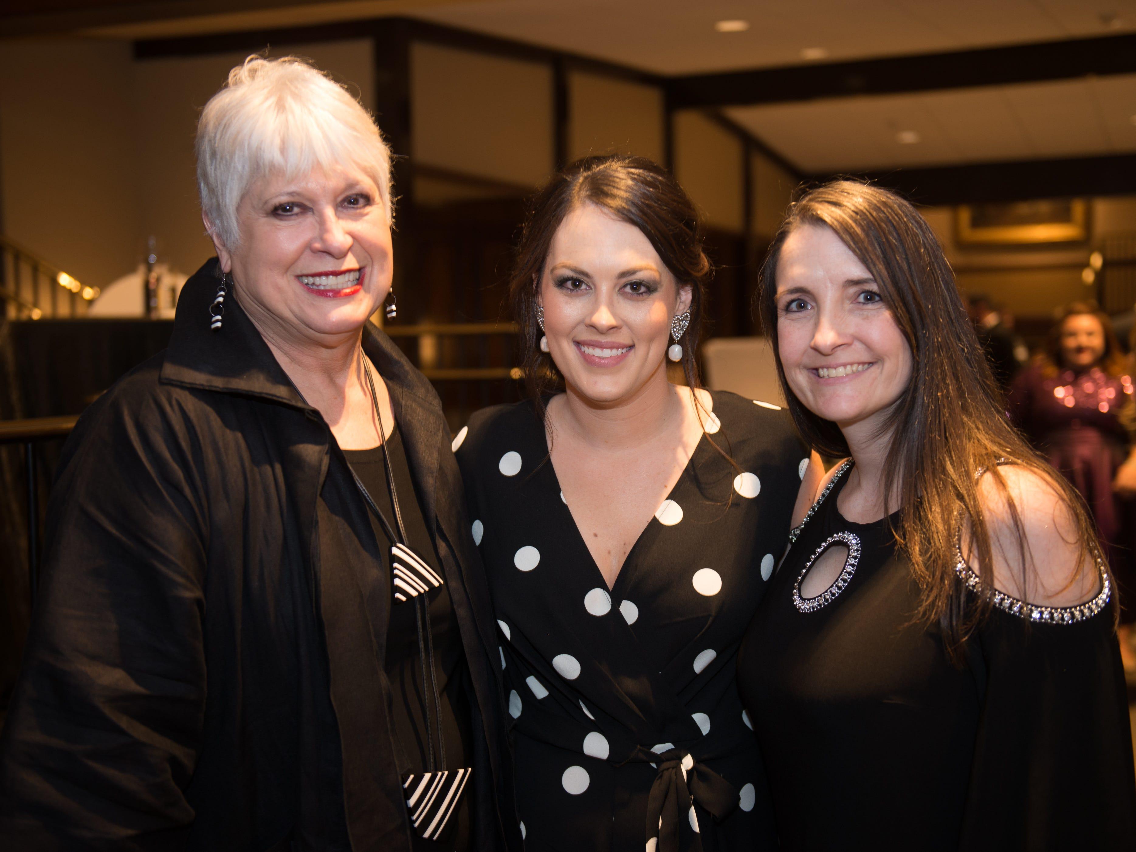 Linda McAllister, Marin Thompson, Terri Copeland