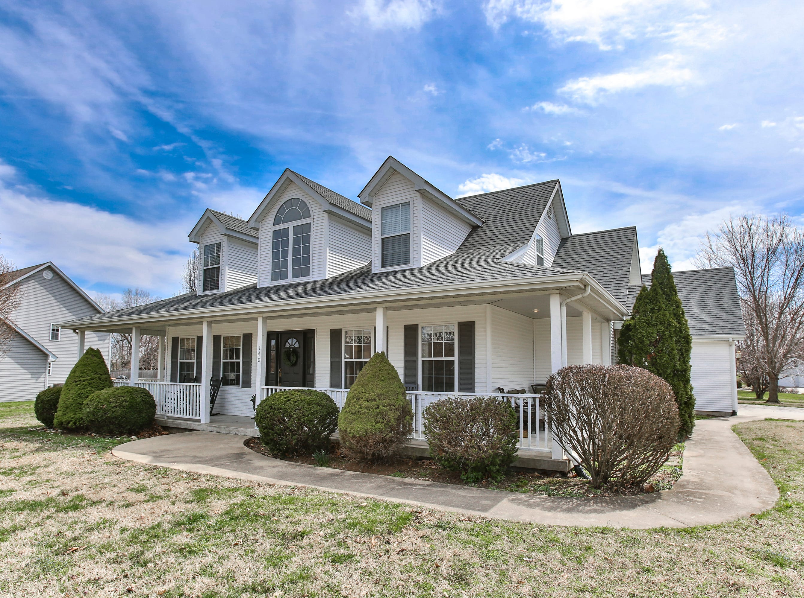 The Bolivar home of Darren, Lisa, Lily and Lauren Crowder on March 27, 2019.