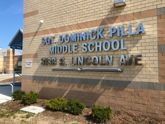 After a community rally and Vineland school board vote, the Lincoln Avenue Middle School was renamed in honor of Sgt. Dominick Pilla, who was killed in action in 1993.