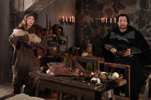 """Another """"Game of Thrones"""" spinoff idea: a sitcom about Samwell Tarly and Gilly."""