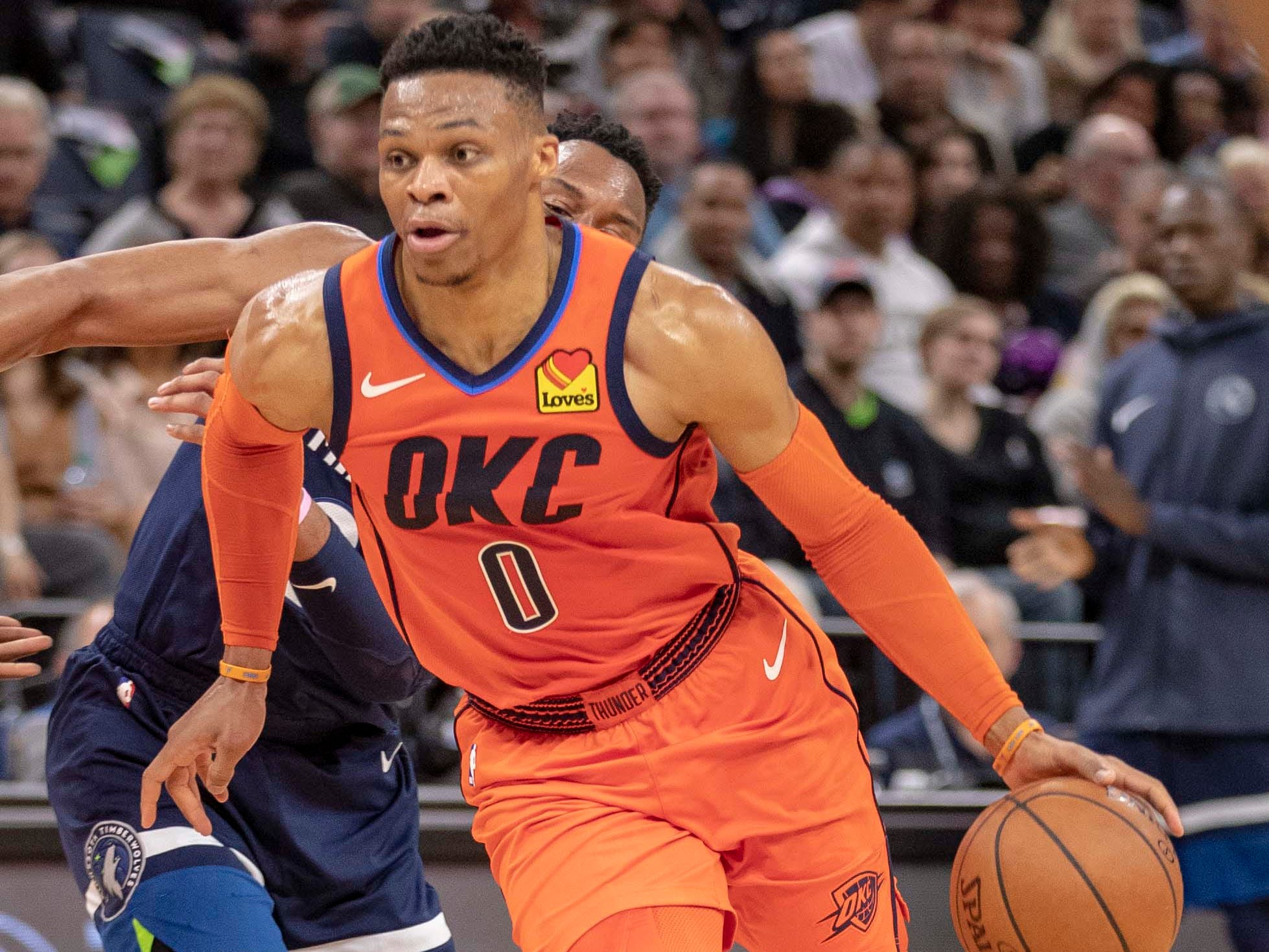 121. Russell Westbrook, Thunder (April 7): 27 points, 15 assist, 10 rebounds in 132-126 win over Timberwolves (32nd of season).