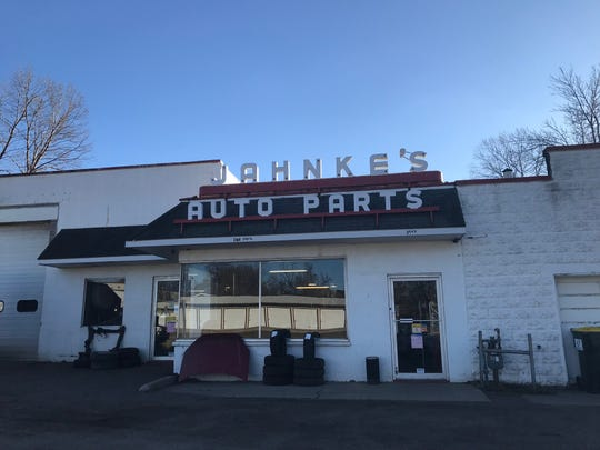 Jahnke's Auto Parts on Valley Road in Fox Crossing.