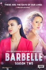 Poster for Barbelle season two.