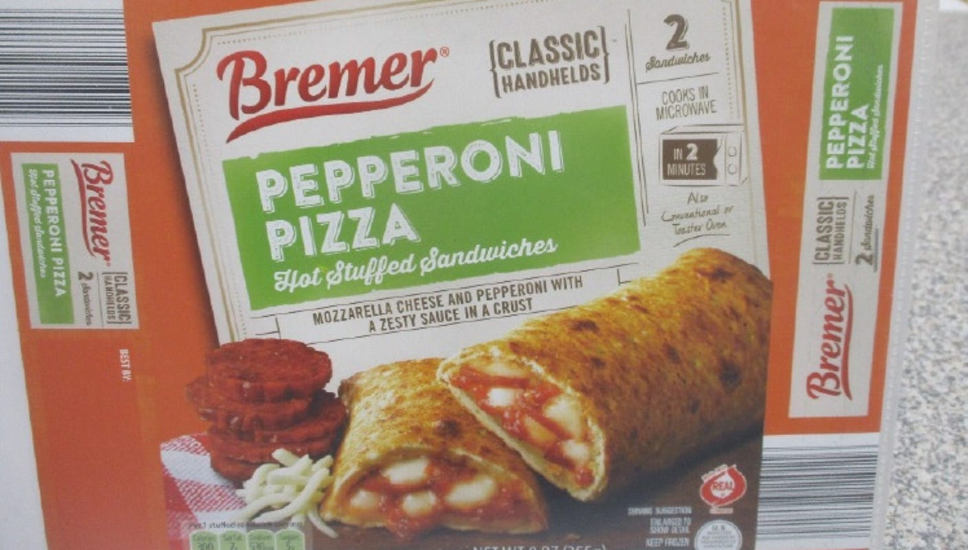 Best Frozen Pizza 2020 USDA recalls Bremer frozen stuffed sandwiches over plastic concerns