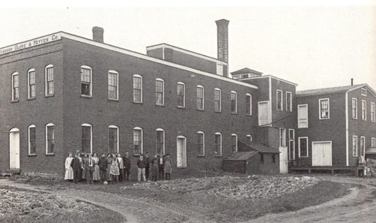 The third Coburn Whip Co. factory, about 1910.