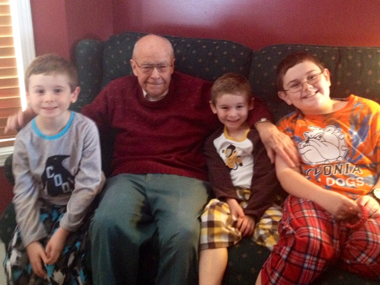 Dr. Arthur Coddington Jr.'s family said he was a proud grandfather.