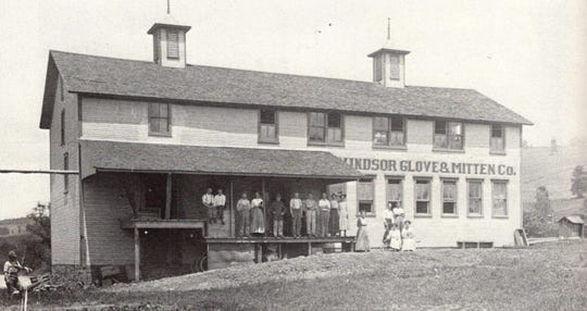 The Windsor Glove factory that became Empire Whips, about 1920.