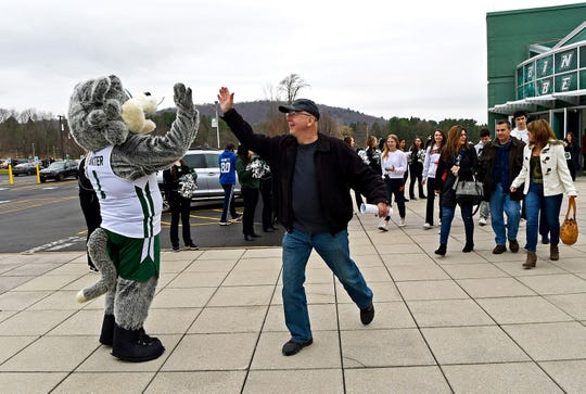 Binghamton University held its Admitted Student Open House on Saturday, April 6, 2019. The Open House included tours and informational sessions, as well as the opportunity to meet with faculty members and current students.