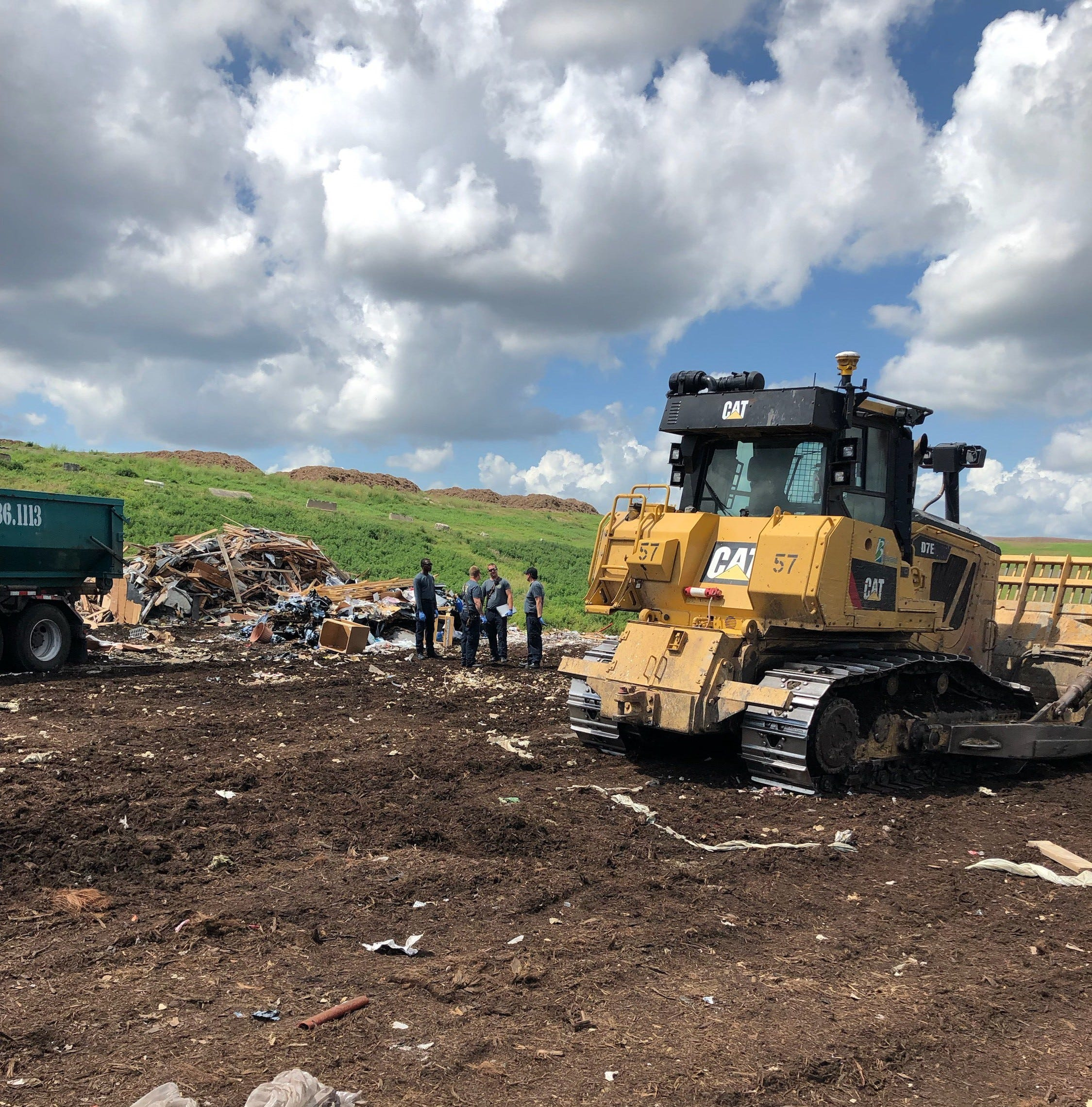 Worker dies after being struck by bulldozer at Brevard County landfill in Melbourne