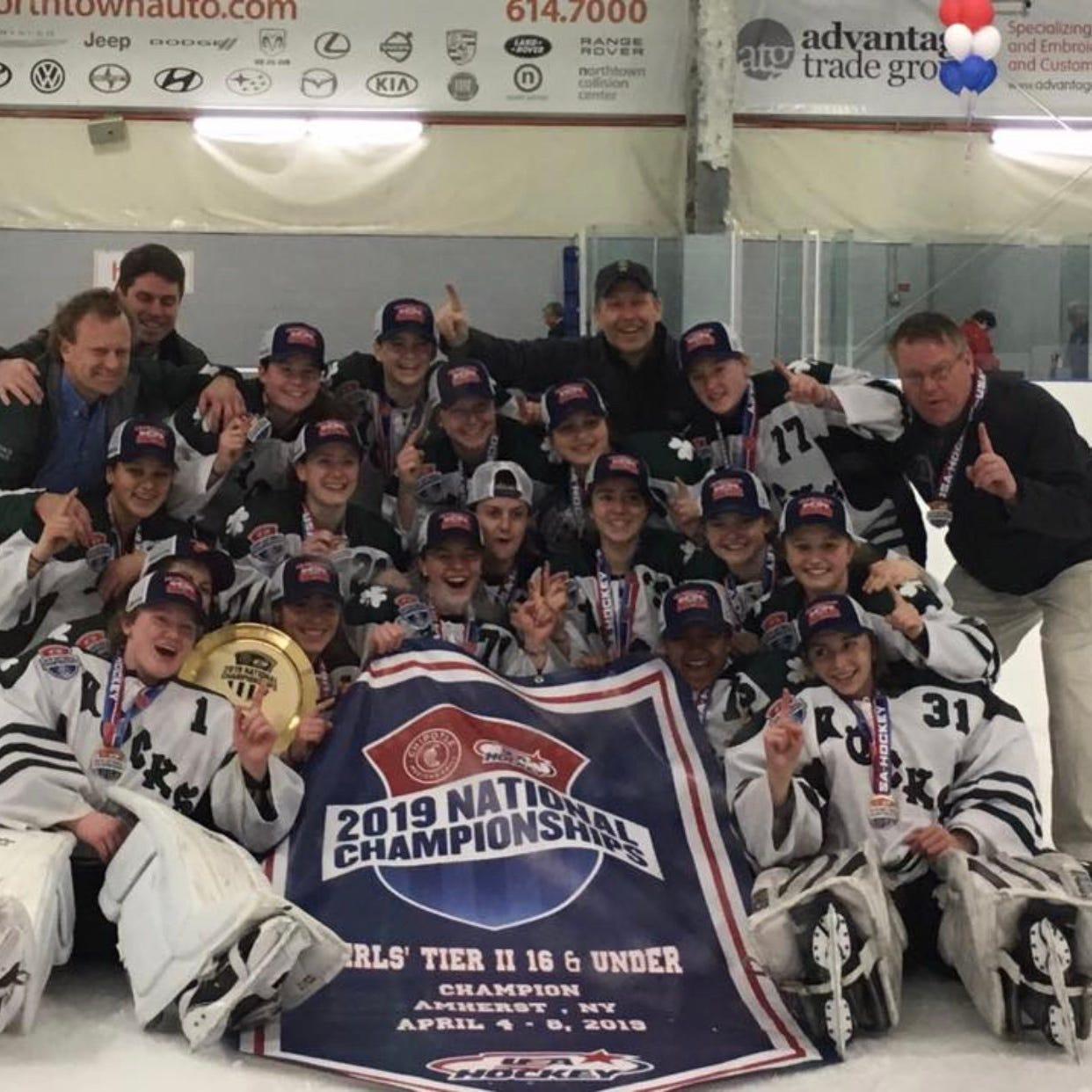 Vermont Shamrocks roll to girls hockey national championship