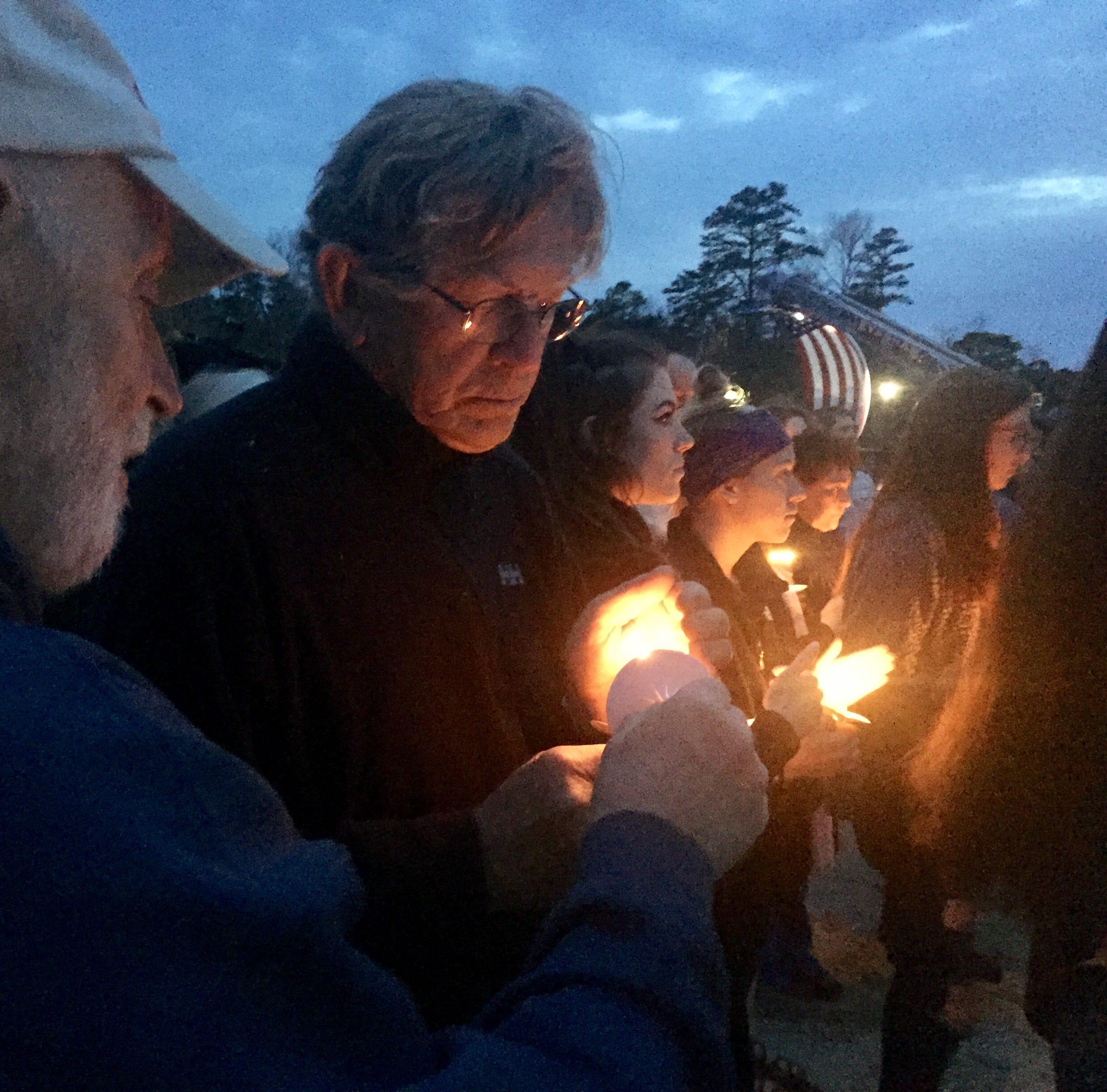 Fallen soldier recalled as 'ultimate best friend' at Medford Lakes vigil