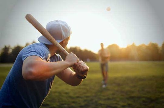 Shoulder pain is a common springtime complaint, particularly among those who golf or play tennis, baseball or softball.  Credit: Courtesy Rowan Medicine