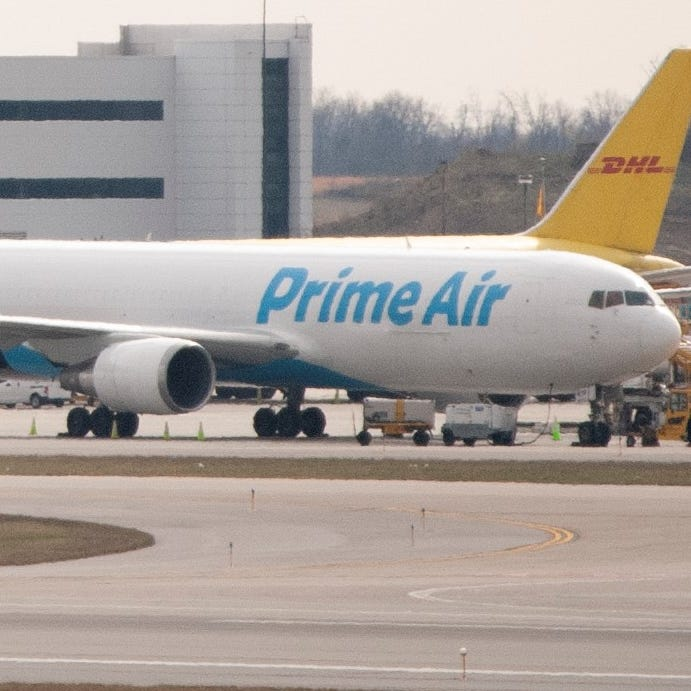 Amazon announces groundbreaking for its massive CVG cargo hub
