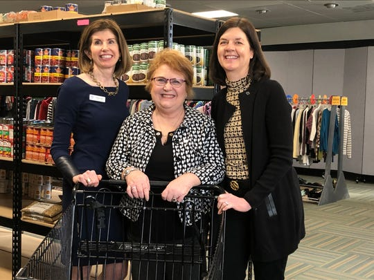 Alida Hart, President and CEO of Inter Parish Ministry and Celebration Co-Chairs Cindy Sellers and Kris Mullin are getting ready for IPM's 55th Anniversary Event.