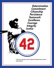 Jackie Robinson Character Initiative sign