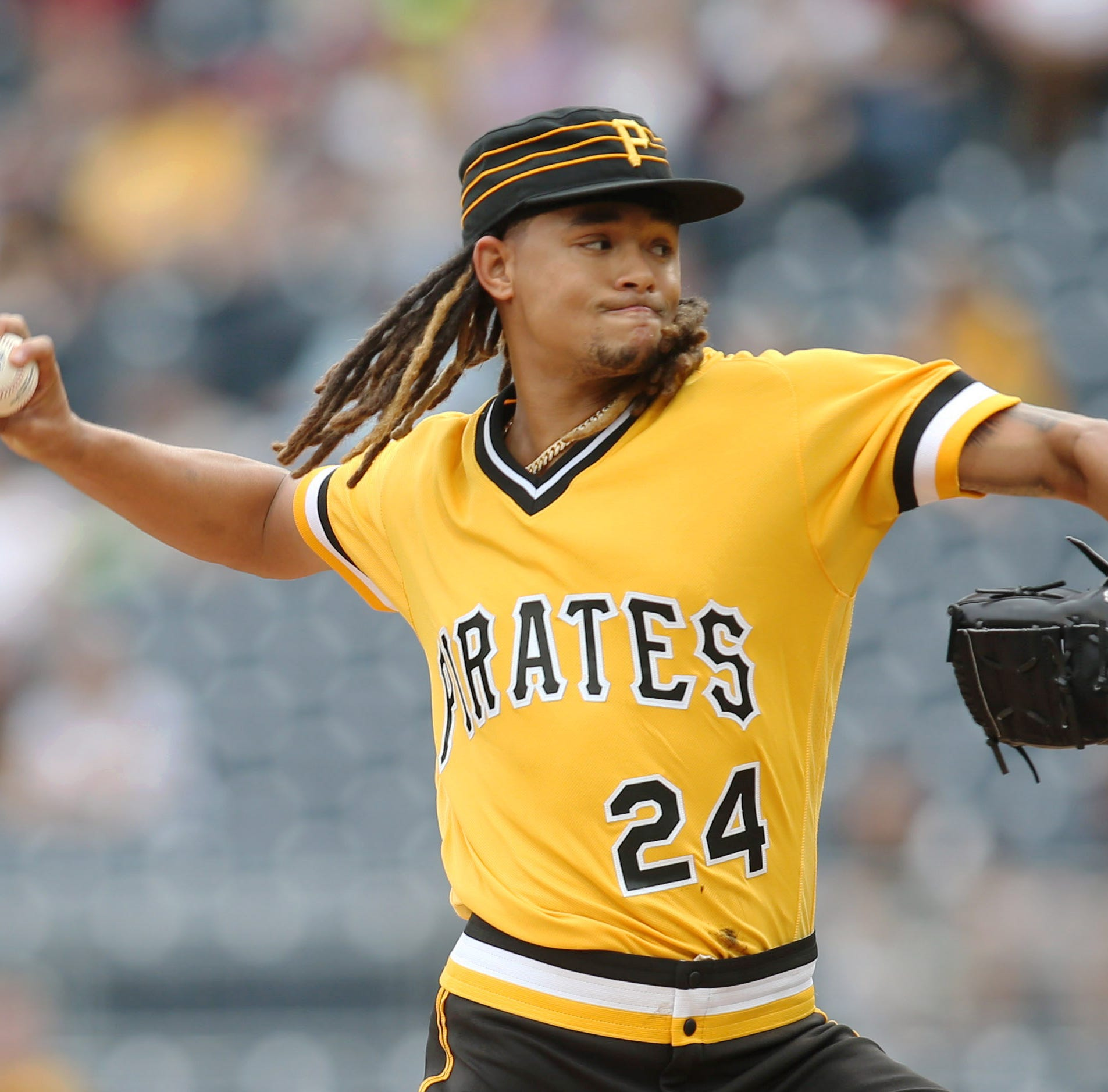 Chris Welsh on Fox Sports Ohio: Chris Archer used pine tar on jersey for certain pitches