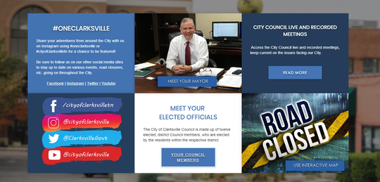 """""""The new website is visually clean and crisp, and makes striking use of colorful, attractive views of the City,"""" Mayor Joe Pitts said. """"More importantly, it gives us a giant leap forward in technology that will allow citizens to interact with City Government in new and more efficient ways."""""""