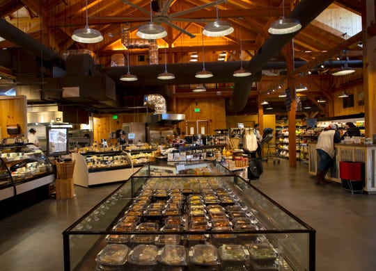 """Profeta Farms Market includes """"The Farmer's Kitchen,"""" where in-house chefs prepare meals and snacks with organic ingredients inspired by and from the farm."""