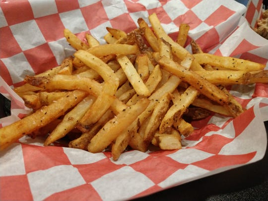 The fries at Rolling Smoke Barbeque in Pleasant Hill.