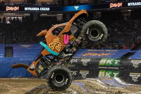 Monster Jam's two-day event returns to the Wells Fargo Arena for one show on Friday night and two shows on Saturday.