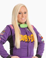 Davenport native and Monster Jam driver Myranda Cozad.