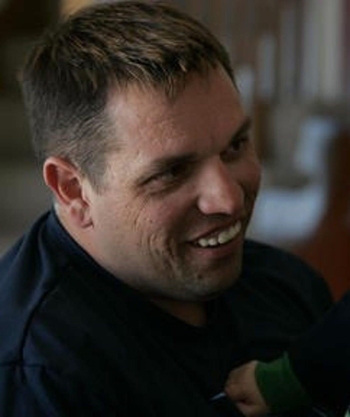 Former Johnston police officer Travis Hamilton