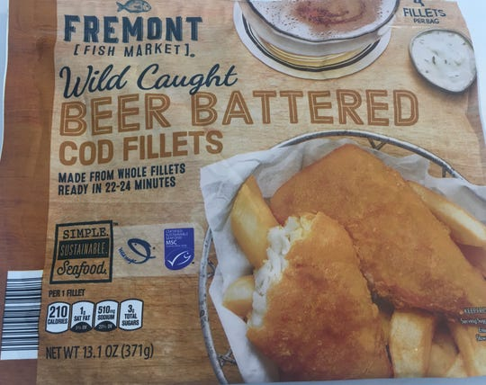 Fremont Fish Market Beer Battered Cod