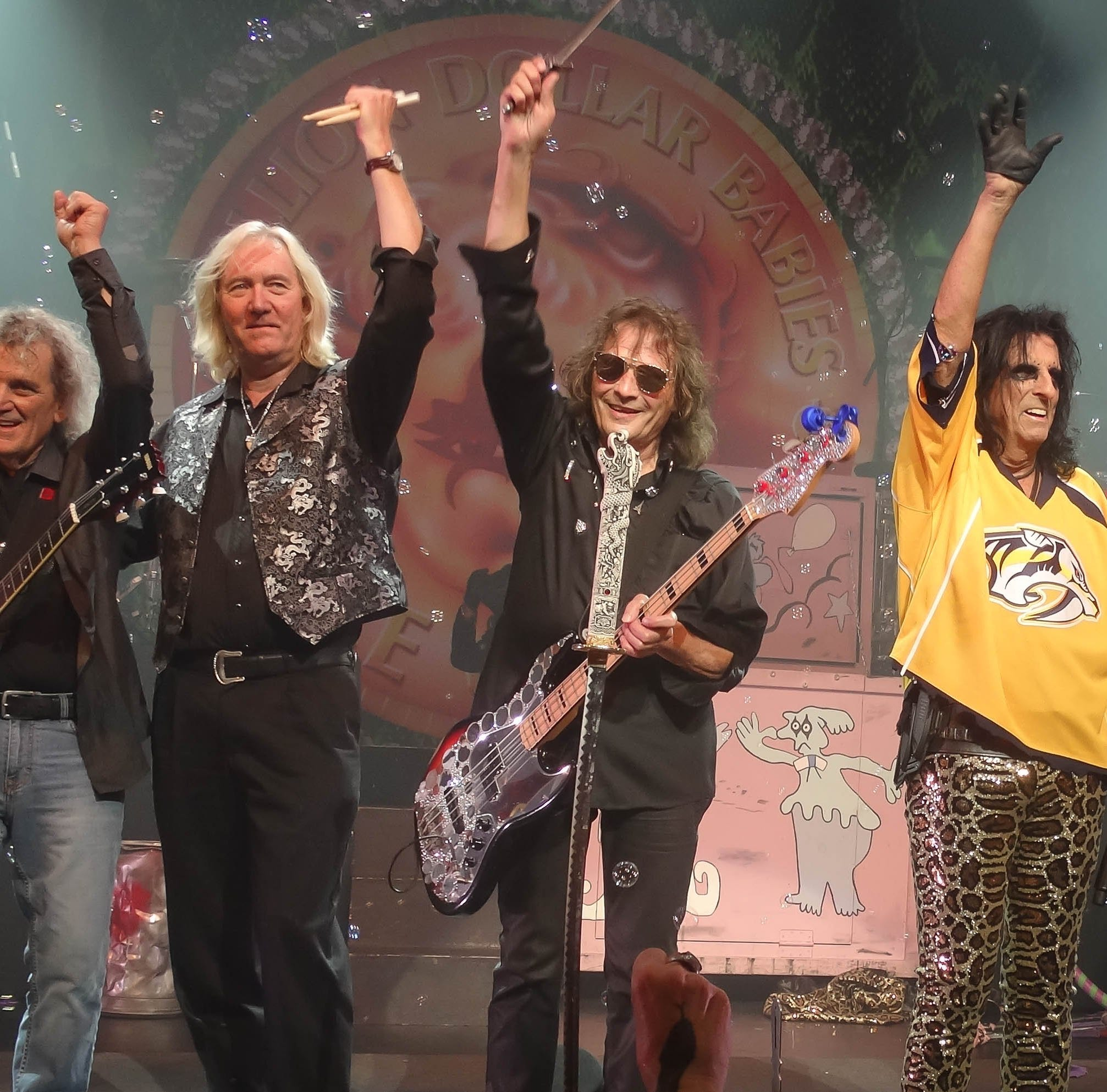 Alice Cooper band's off-the-cuff reunion recounted in 'Live from the Astroturf' documentary