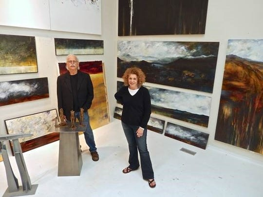 Husband-and-wife Russell and Nancy Thayer are launching another of their joint shows Friday at the Robert Kidd Gallery in Birmingham.