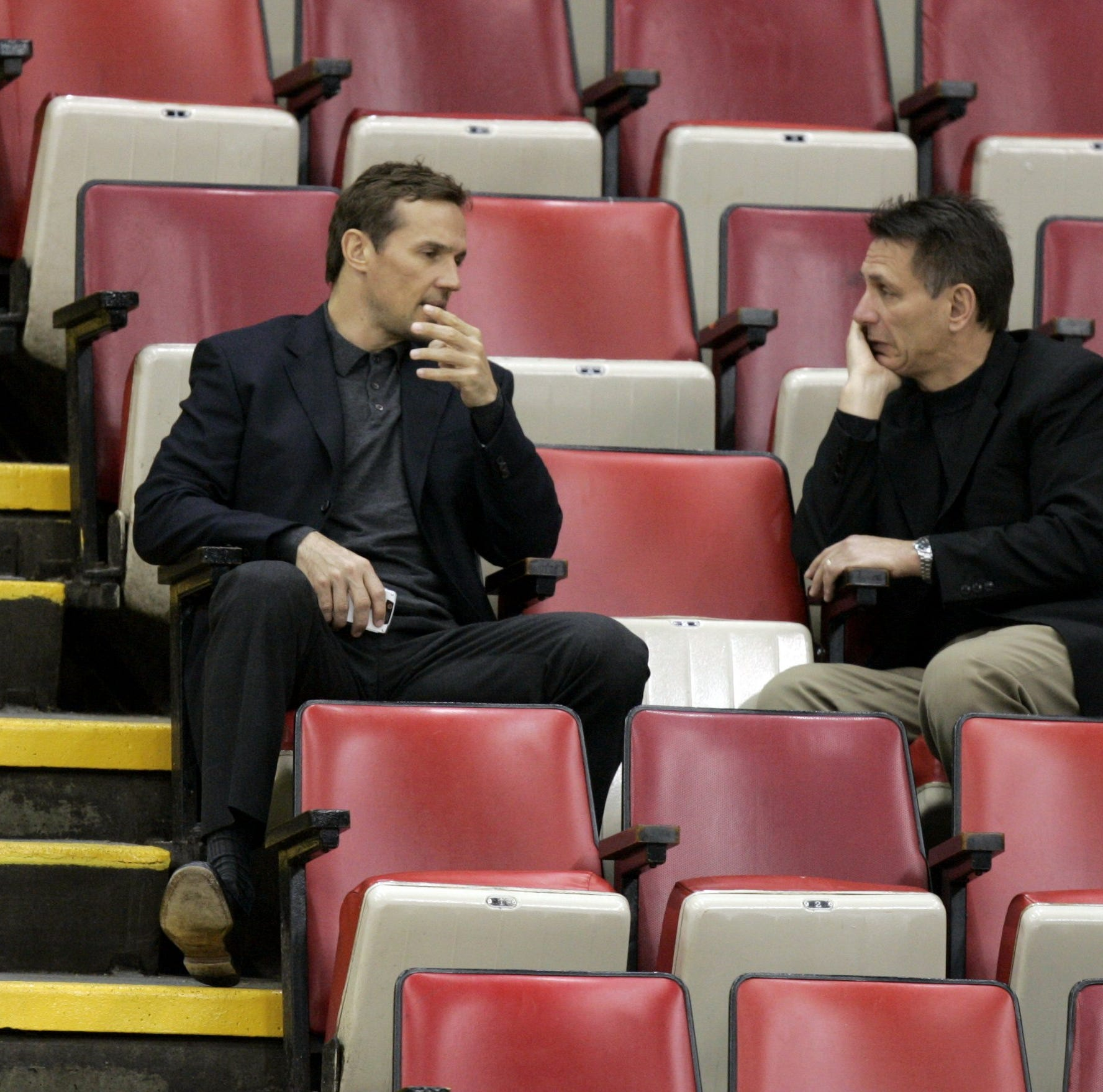 Detroit Red Wings' Ken Holland on Steve Yzerman rumors: 'We laugh about it'