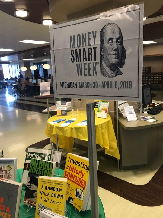 Money Smart Week events in Michigan run through April 30 at various credit unions, libraries, schools and other locations. Photo: Detroit Public Library main branch.