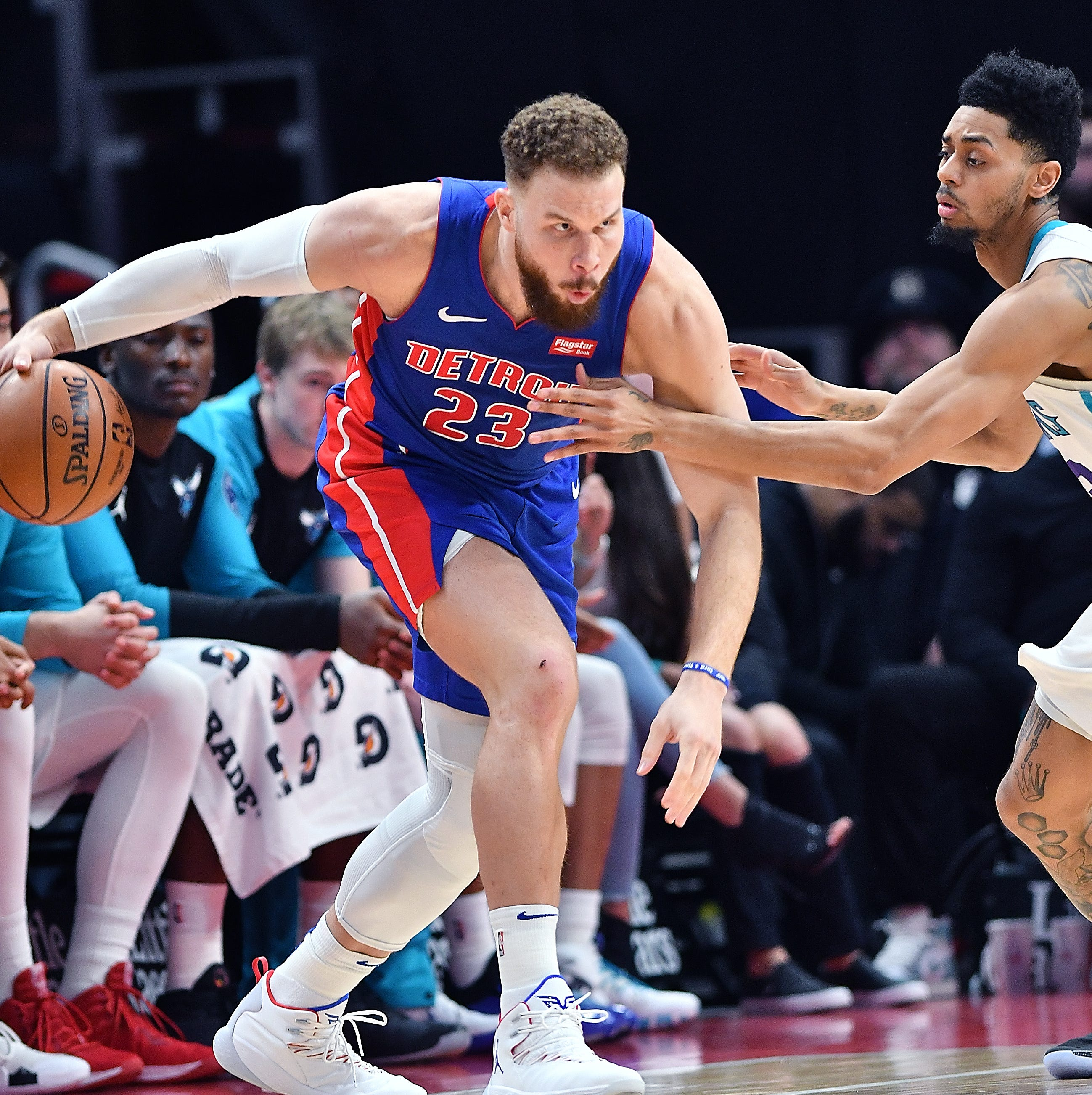 Blake Griffin's uncertain status adds intrigue to first Pistons' playoff series in 3 years