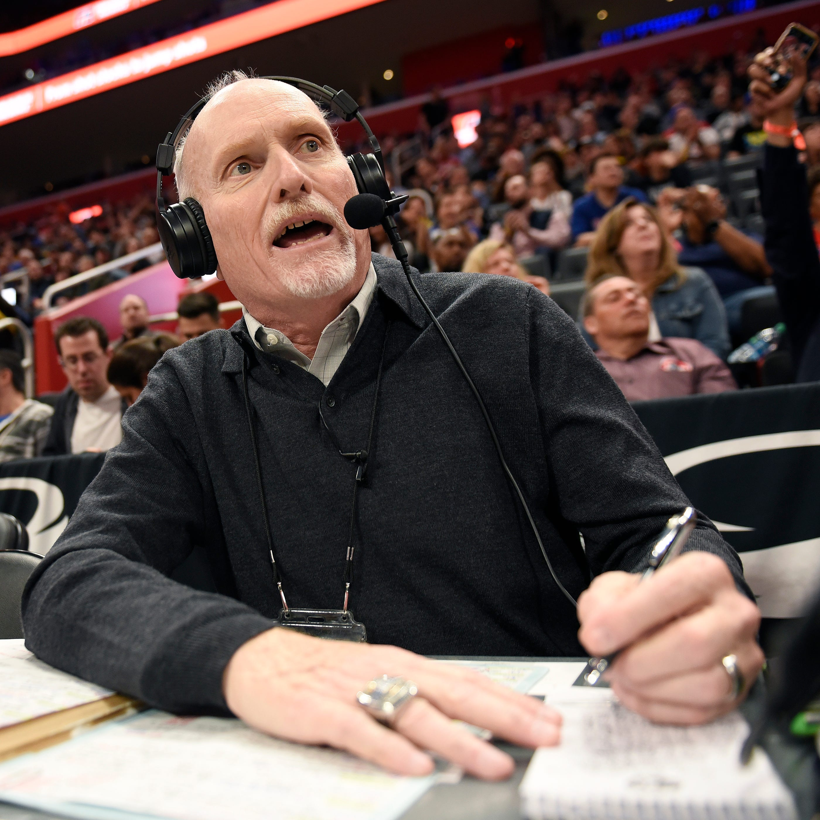 Champion-caliber: Pistons' radio voice feeling fortunate after 50 years of calls