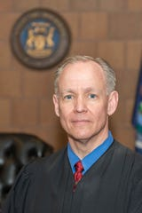 Judge Thomas Boyd of 55th District Court in Mason.
