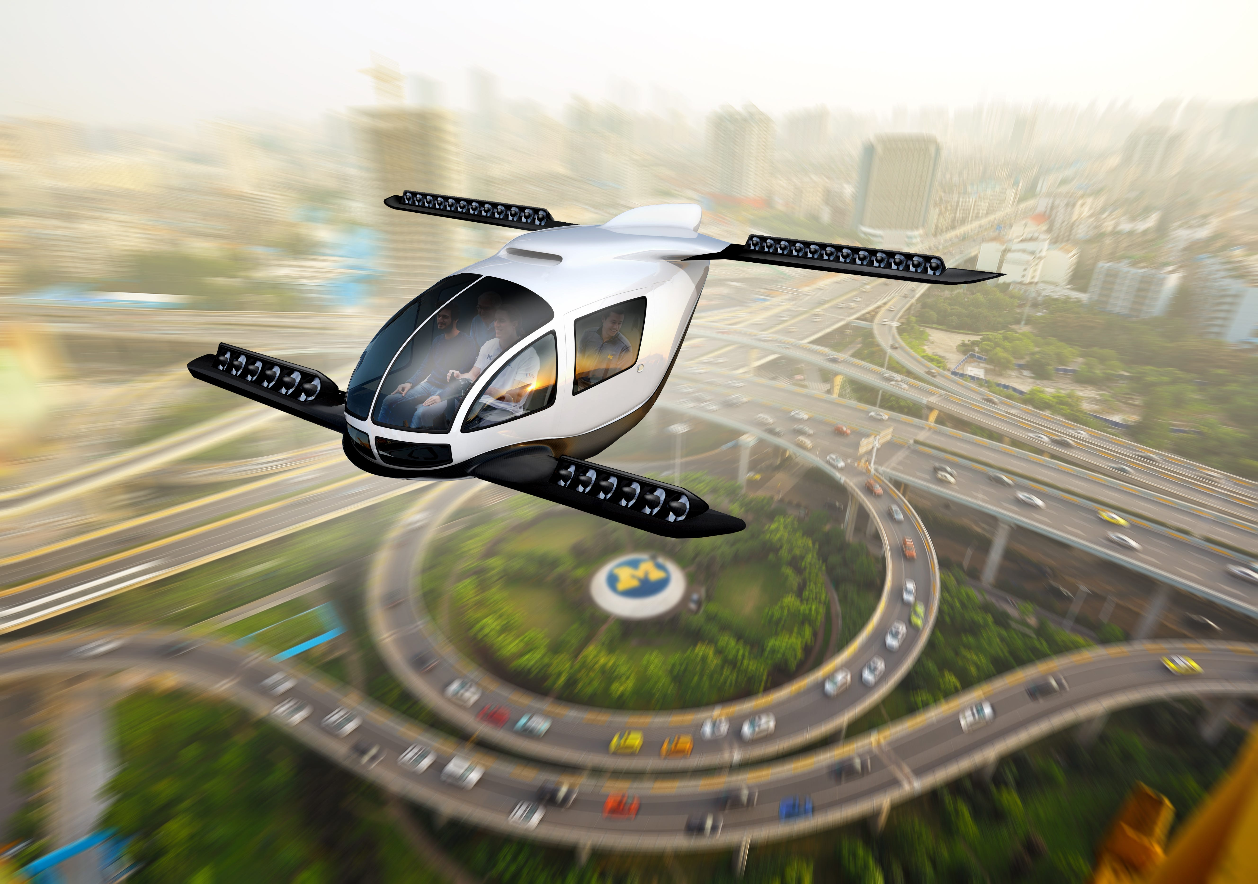 Ford, UM study whether flying cars would be better for environment
