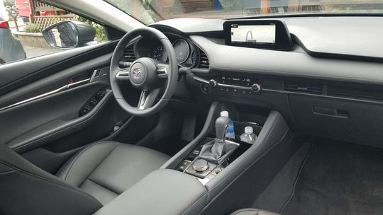 Premium appointments. The 2019 Mazda 3 is a $25,000 car with the interior design of a vehicle costing more than twice that.
