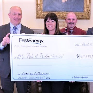 Biz briefs: Sayre hospital rewarded for energy efficiency