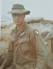 Anthony Mielke in Vietnam as part of the infantry serving the 101st  Airborne.