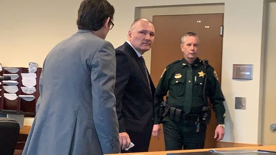 James Daniel Sinclair's plea agreement on evidence tampering and obstruction charges was accepted by Lee County Circuit Court Judge J. Frank Porter Monday. Sinclair will be spending 30 days in jail and 36 months on probation.