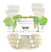 The LedgeCrest Reserve will feature fireplaces, chandeliers, an outdoor courtyard, a bridal suite and more.