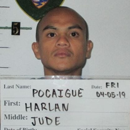 Harlan Jude Pocaigue charged with burglary, theft
