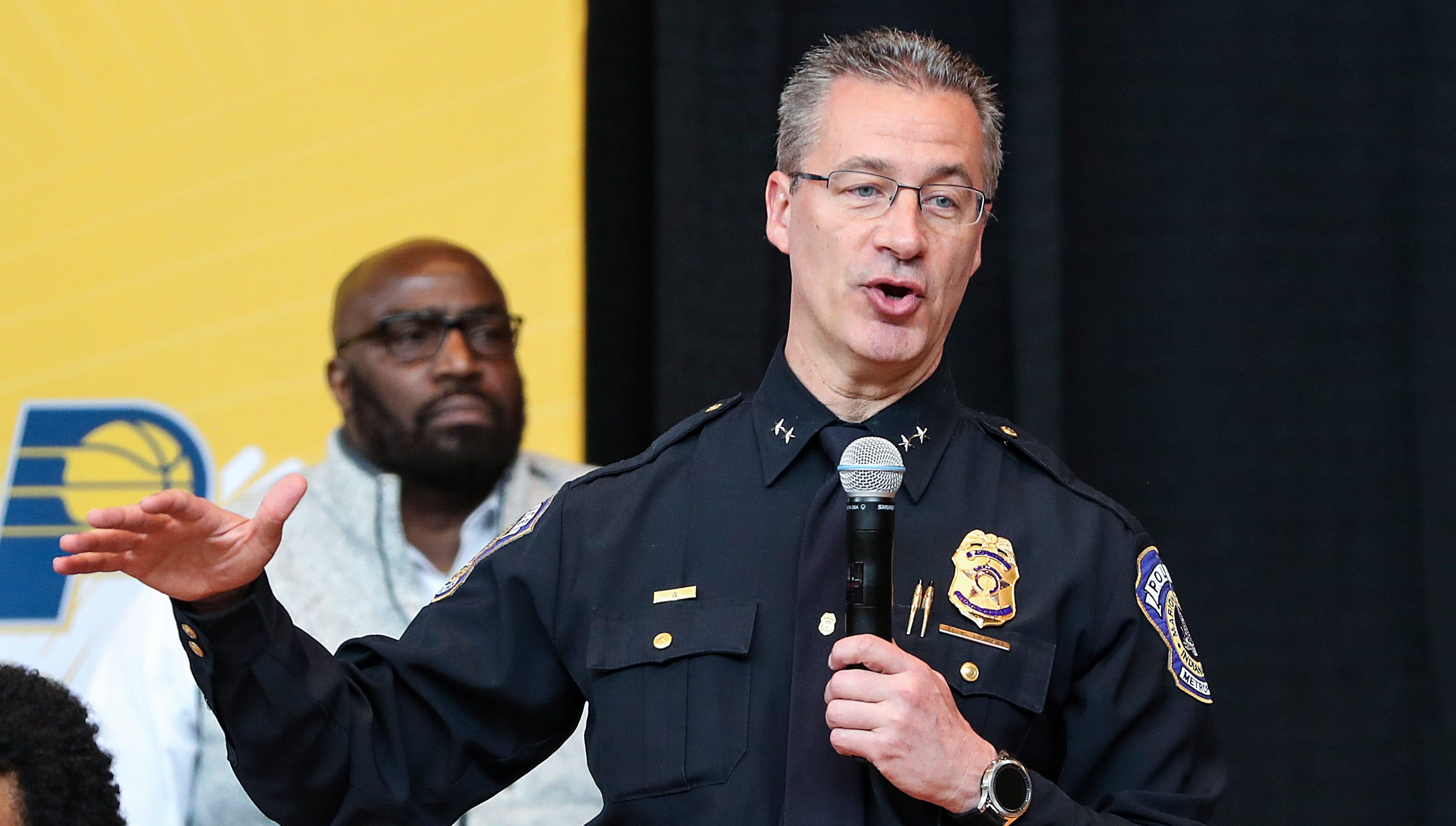 IMDP Chief Bryan Roach speaks at the Leadership...