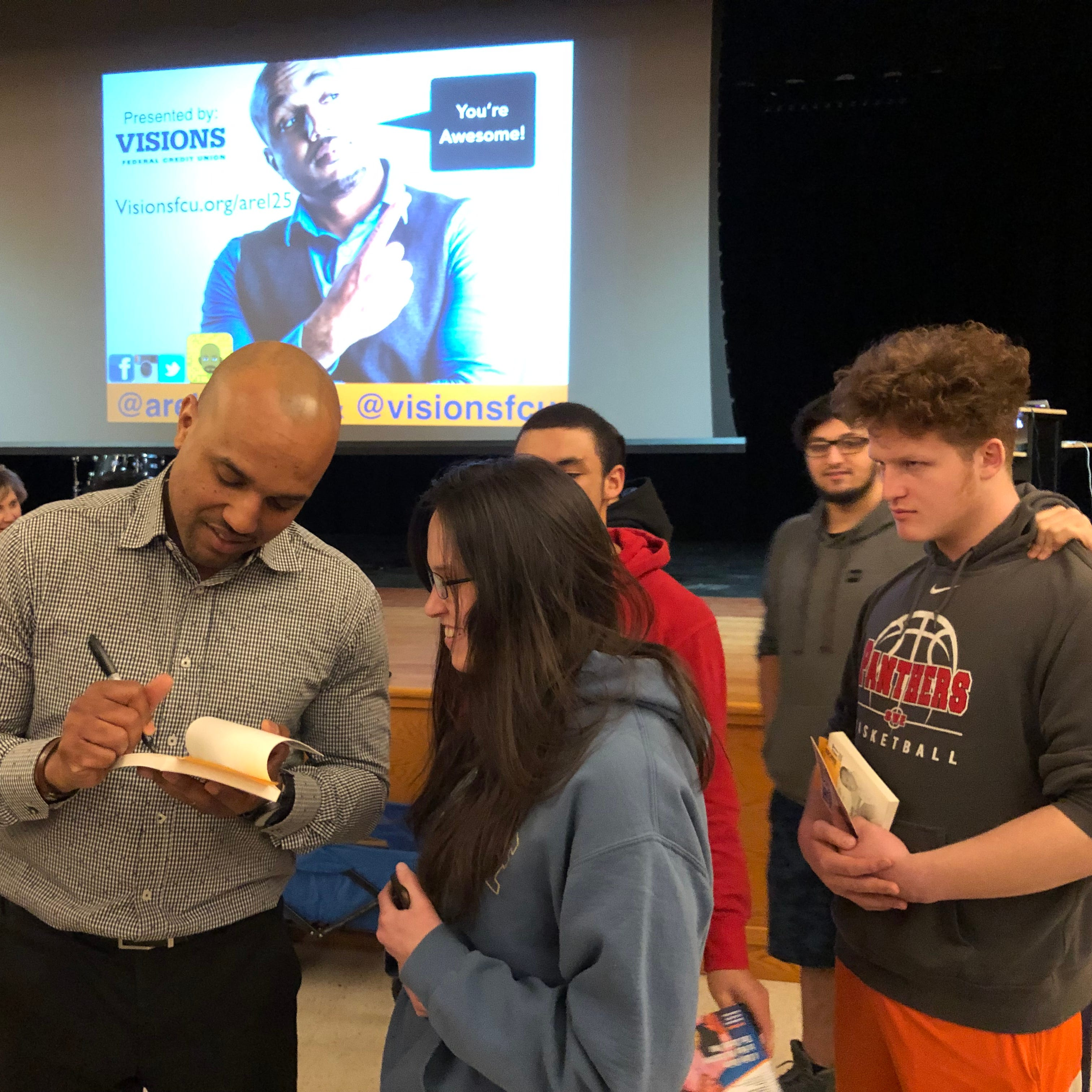 Spencer-Van Etten Town Talk: Speaker shares with students the secrets of success