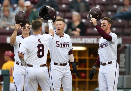 Mississippi State went 3-1 last week, including taking two of three from Tennessee on the road in Knoxville.